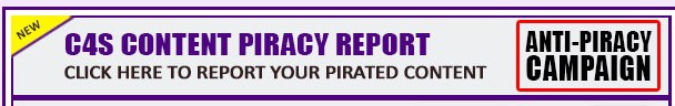 Banner of Clips4sale's anti piracy campaign