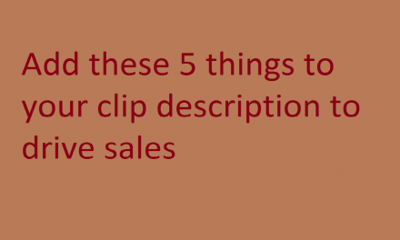 5 things to add to your clips4sale clip descriptions for more sales